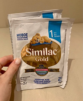 Отдается в дар Питание Similac Gold
