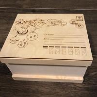 Отдается в дар Коробка для новогоднего подарка