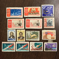 Отдается в дар Марки СССР — 1961-1963 гг