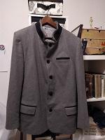 Отдается в дар мужской драповый пиджак-пальто 50?