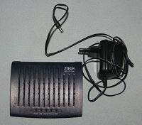 Отдается в дар ADSL-модем ZTE