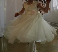 Отдается в дар Праздничное платье 110-116