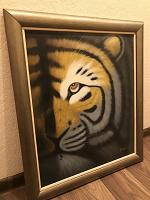 Отдается в дар Картина с тигром