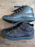 Отдается в дар Коричневые ботинки 32 размера с утеплителем