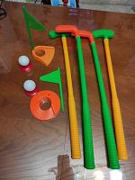 Отдается в дар Детская пластиковая игра гольф