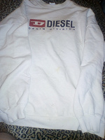 Отдается в дар Фуфайка Diesel, 48р.