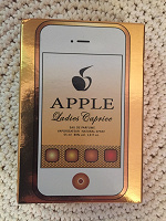 Отдается в дар Apple ladies caprice парфюмерная вода
