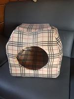 Отдается в дар Домик для кошки Барберри Мягкий