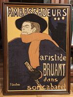 Отдается в дар Картина на ткани (гобелен, хлопок). Франция.