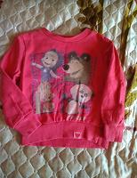 Отдается в дар Детская кофта Маша и медведь.