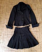 Отдается в дар Школьный костюм (юбка и пиджак)