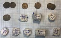Отдается в дар Монеты 2 копейки СССР 61-91