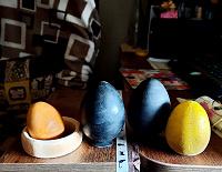 Отдается в дар Деревянные яйца)