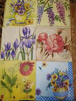 Отдается в дар Салфетки с цветами