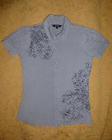 Отдается в дар Трикотажная блузка. Размер 42