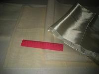 Отдается в дар 4 отреза подкладочной ткани