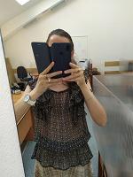 Отдается в дар Блуза прозрачная 44