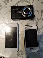 Телефоны и фотоаппарат