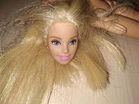 Отдается в дар Кукла барби в хэнд мэйд