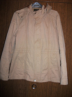 Отдается в дар Куртка-ветровка мужская, размер 46, х/б