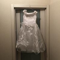 Отдается в дар Платье белое на девочку