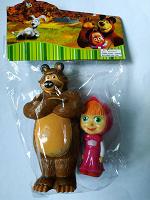 Отдается в дар Маша и медведь игрушки новые в упаковке