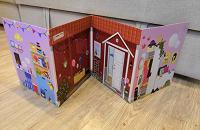Отдается в дар Картонный дом для Барби из Икеи