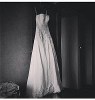Отдается в дар Свадебное платье 42-46