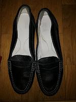 Отдается в дар Кожаные туфли geox разм 35