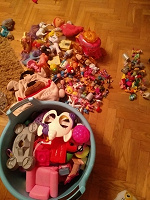 Отдается в дар Куча разных игрушек, большой пакет