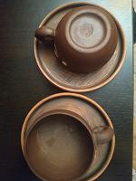 Отдается в дар чашки кофейные ручная работа