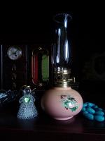 Отдается в дар Мини-лампа керосинка интерьерная.