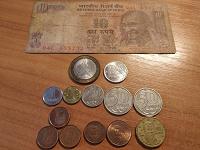 Отдается в дар Банкнота и монеты