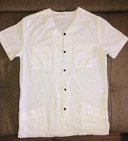 Отдается в дар Рубашка женская белая, удлиненная (10/12; 38/40; M/L)
