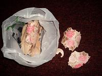 Отдается в дар бумажные цветы