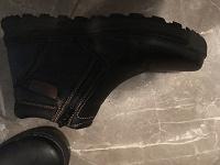 Отдается в дар Зимние ботинки кожзам 34 размер