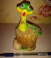 Отдается в дар Копилка змейка