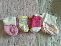 Отдается в дар Носочки для новорожденной девочки