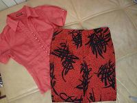 Отдается в дар красная одежда 42 р-ра: кофточка и юбка