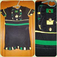 Отдается в дар Теплый сарафан и платье на 2-3 годика
