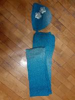 Отдается в дар Теплые шапка и шарф