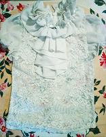 Отдается в дар Блузка и юбка для девочки в школу, на 1-3 класс