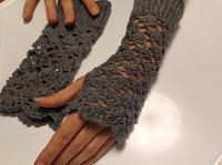 Отдается в дар Митенки (перчатки без пальцев) ручная работа