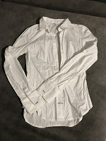 Отдается в дар Блузка белая (новая) размер 34