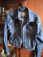 Отдается в дар джинсовая куртка девочке