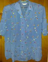 Отдается в дар летняя блузка 58 р-р
