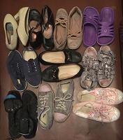 Отдается в дар Обувь разная для девочки, размер 36