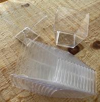 Отдается в дар Стаканчики миски из прозрачного пластика