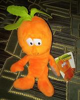 Отдается в дар Игрушка-морковка