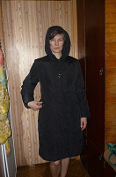 Отдается в дар Пальто на пуху, 46 размер